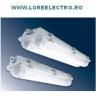 Corp iluminat fluorescent antiexploziv 2x18W, carcasa policarbonat