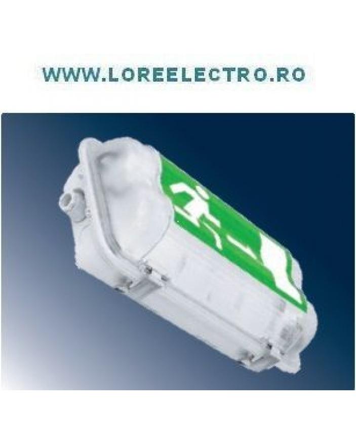 Corp iluminat antiex EXIT 1x11W permanent autonomie 3h, cod LORE00000006