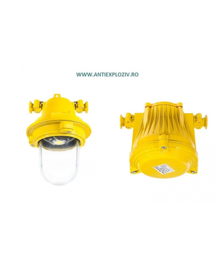 AV-02C LED 55W Corp de iluminat antiex 55W cu LED, 230v  pentru zona 1 și zona 2 gaze Explozibile