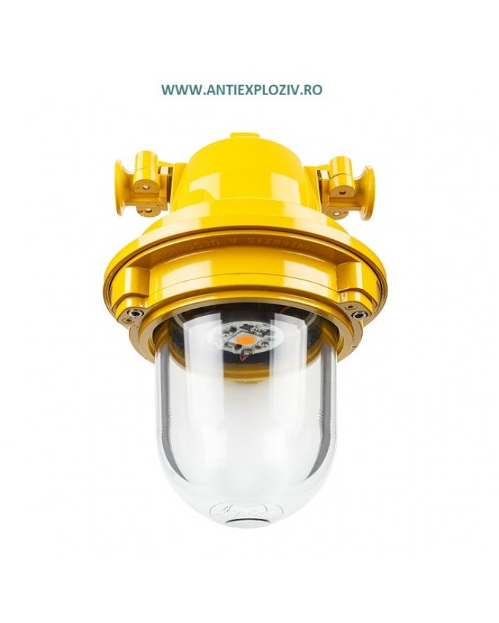 AI-02C LED 32w 3000K CORP ILUMINAT ANTIEX 32W CU LED, 230V, IP54, PENTRU ZONA 1 SI ZONA 2 GAZE, 3000K
