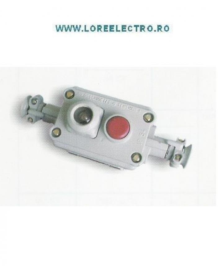 Cutie de comanda  Antiex 7010, cu 2 butoane pentru pornire motoare