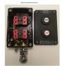 cutie cu 2 butoane antiex cabluri armate 1 presetupa interior