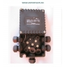 rk01 544 doza antiex 6 presetupe poliamida pentru cabluri nearmate m25 cu borna surub interior