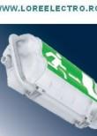 Corp iluminat antiex EXIT 1x9W nepermanent autonomie 3h, LORE00000007